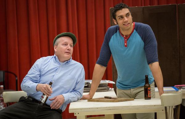 Guy Van Swearingen (Wally O'Hara) and Travis A. Knight (Alton) Photo