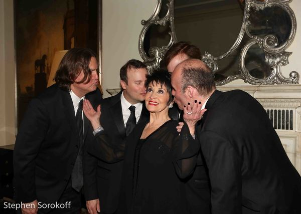 Chita Rivera & Michael Crofter, Music , Michael Patrick Walker, Assoc. Music , Piano, Jim Donica Bass, Dan Willis, Reeds