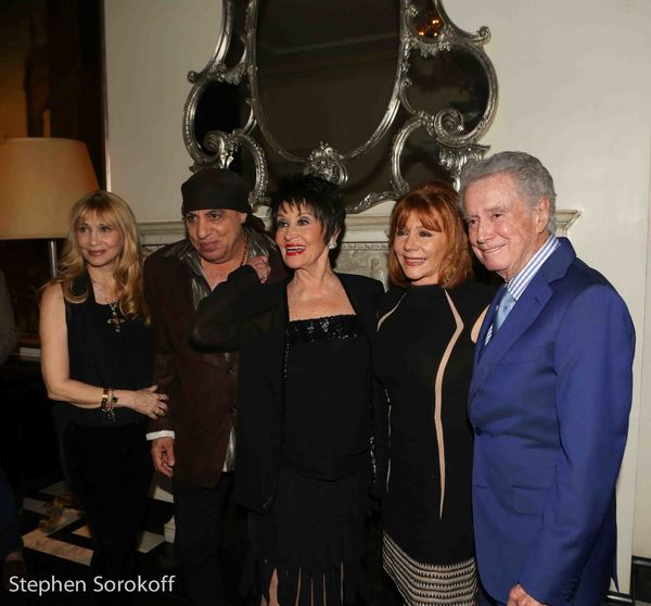 Maureen Van Zandt, Steven Van Zandt, Chita Rivera, Joy Philbin, Regis Philbin Photo