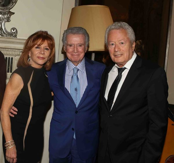 Joy Philbin, Regis Philbin, Stephen Sorokoff Photo
