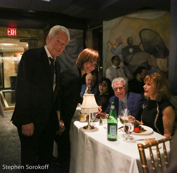 Stephen Sorokoff, Michele Lee, Regis Philbin, Joy Philbin