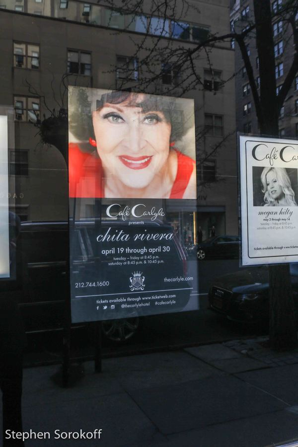 Photo Coverage: There's Nobody Like Chita! Broadway Legend Makes Long-Awaited Cafe Carlyle Debut