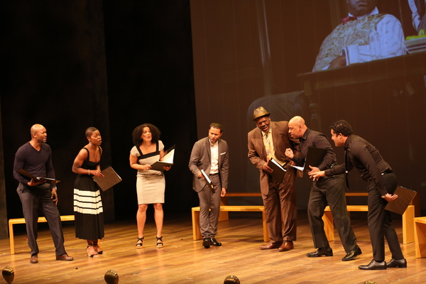Leon Addison Brown, Chuck Cooper, Brandon Dirden, Jason Dirden, Frankie Faison, January LaVoy, Roslyn Ruff and Ruben Santiago-Hudson (August Wilson Season)