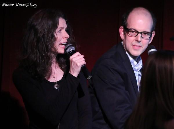 Edie Brickell and Jeff Blumenkrantz