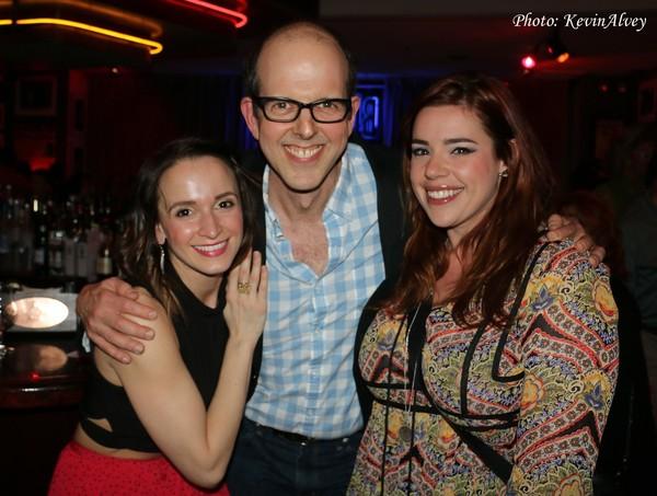 Emily Padgett, Jeff Blumenkrantz and Alysha Umphress