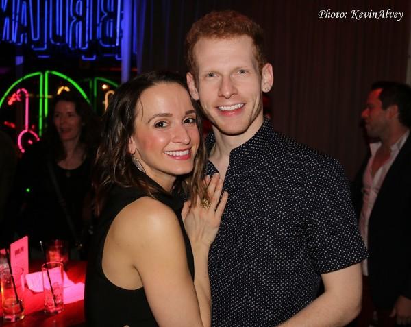 Emily Padgett and Max Chernin