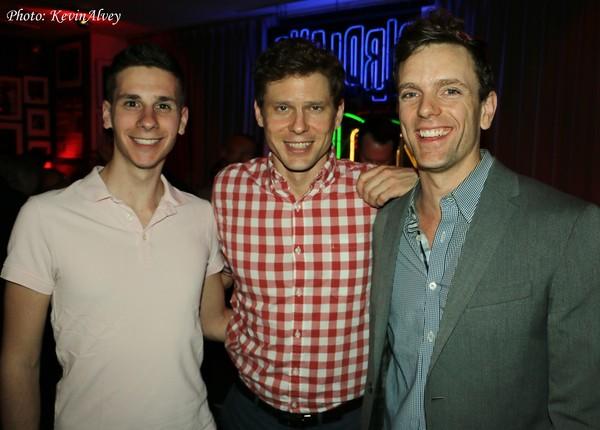 Eric Dietz, Tony Roach and Paul Alexander Nolan Photo