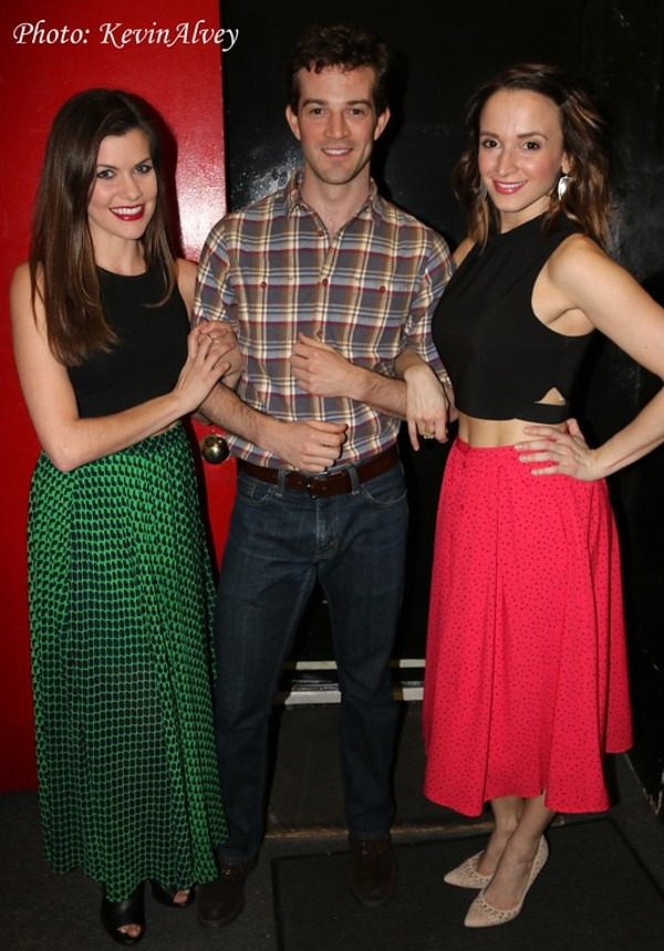 Lizzie Klemperer, A.J. Shively and Emily Padgett Photo