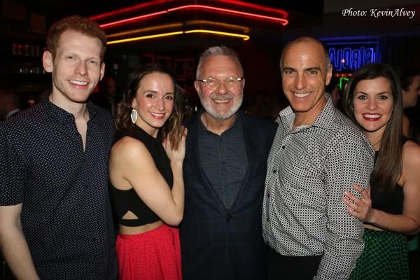 Max Chernin, Emily Padgett, Walter Bobbie, William Michals and Lizzie Klemperer Photo