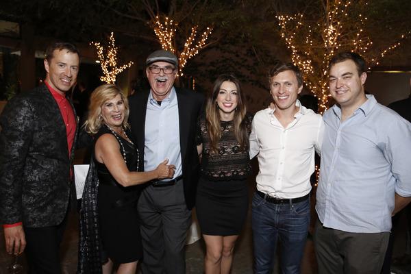 Chuck Ragsdale, Deena Nahmias, Ed Nahmias, Sarah Ellis, Matt Leisy and John Rapson Photo