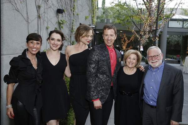 Janice Weiner, Kristen Mengelkoch, Kristen Beth Williams, Chuck Ragsdale, Marilyn Stambler and Errol Stambler