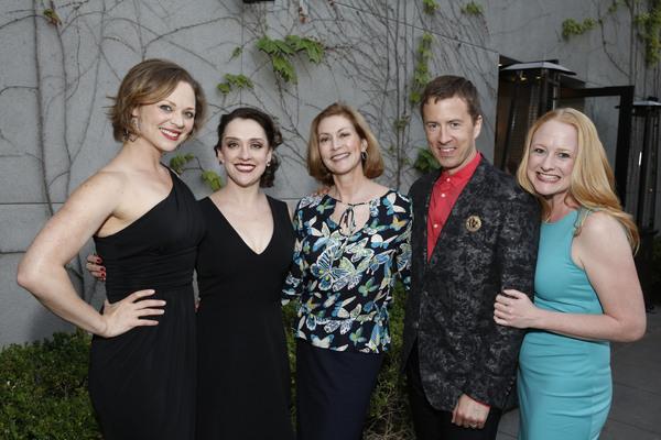 Kristen Beth Williams, Kristen Mengelkoch, Anne Bruner, Chuck Ragsdale and Megan Loom Photo