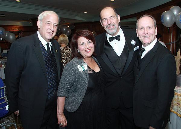 Lawrence E. Stein, Barbara S. Stein, David Arisco and Earl Maulding Photo