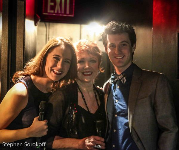 Emily Mechier, Donna McKechnie, Matt Dengler