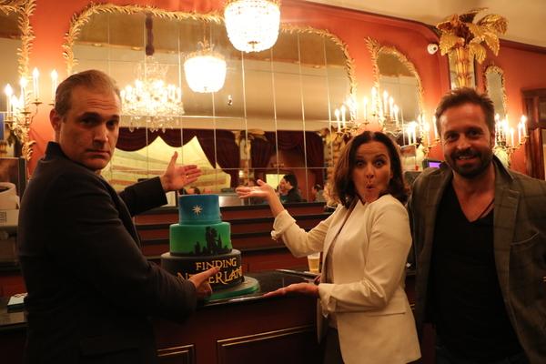 Photo Flash: Marc Kudisch, Sally Ann Triplett & Alfie Boe Join FINDING NEVERLAND!