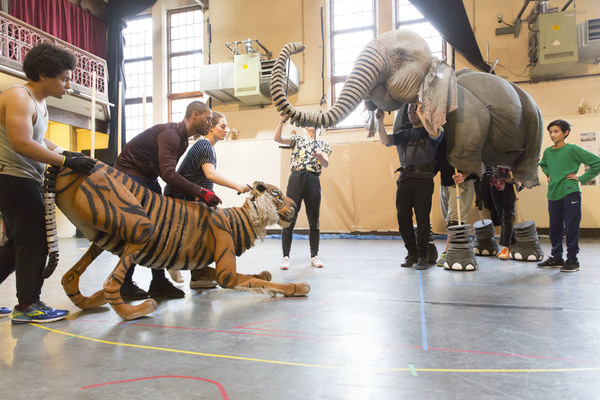 "RUNNING WILD by Morpurgo,           , Writer - Michael Morpurgo, Adaption - Samuel Adamson,  Director â€"" Timothy Sheader & Dale Rooks,  Designer â€"" Paul Wills, Puppetry Design and Direction â€"" Finn Caldwell and Toby Olié for Gyre & Gimble, Regent's Pa"