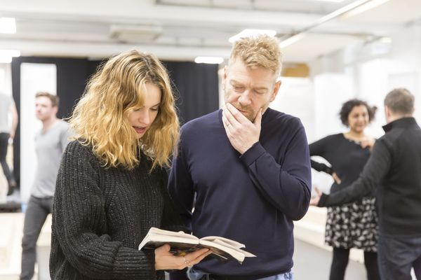 Photo Flash: In Rehearsal with Lily James, Richard Madden & More for Kenneth Branagh's ROMEO AND JULIET