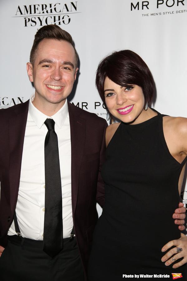 Benjamin Rauhala and Krysta Rodriguez