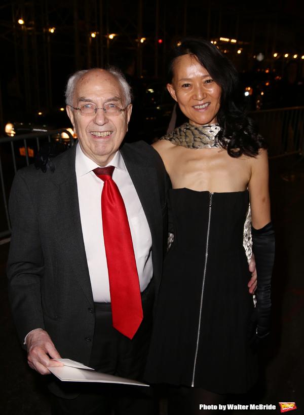 Aubrey Reuben and wife  Photo
