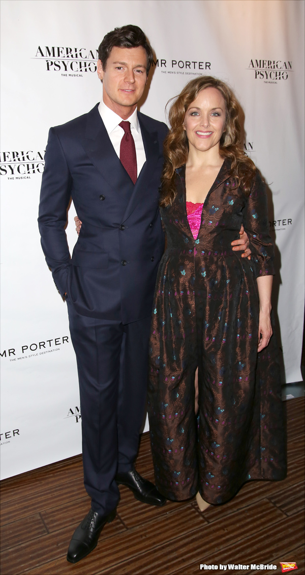 Benjamin Walker and Alice Ripley