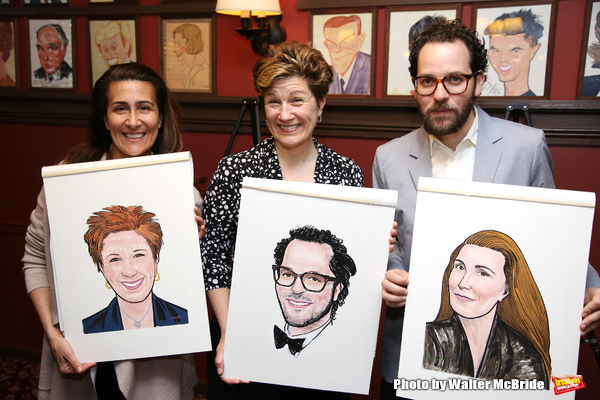Jeanine Tesori, Lisa Kron, and Sam Gold