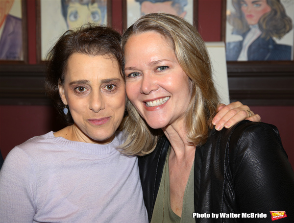 Judy Kuhn and Rebecca Luker