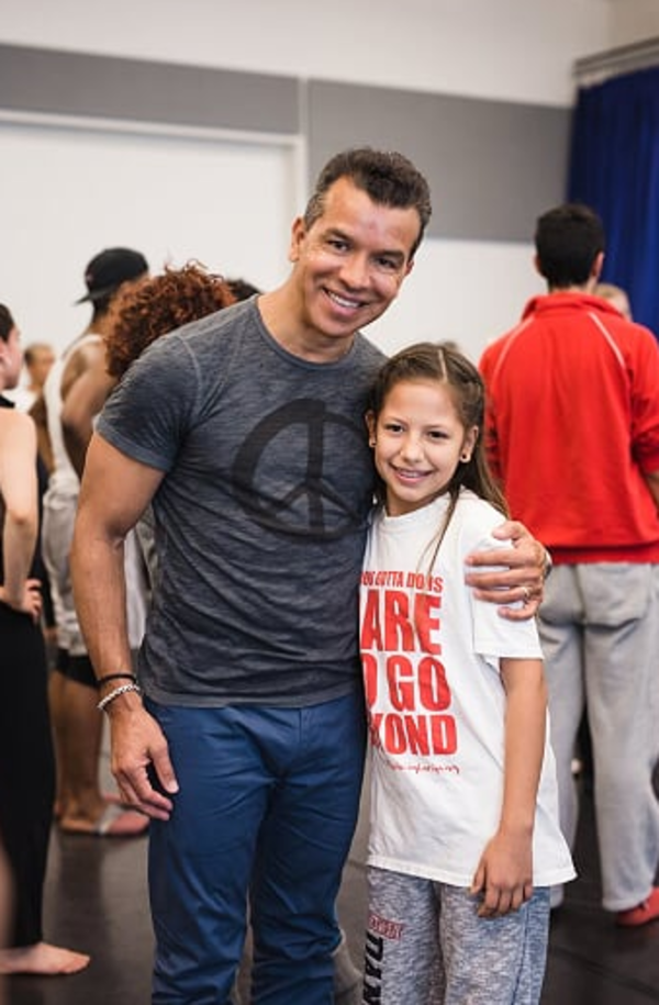 Photo Flash: Sergio Trujillo Visits Rehearsal for R.Evolucion Latina's BOUTIFUL
