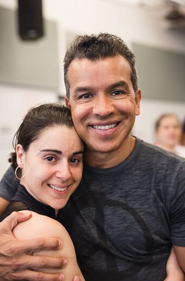 Sergio Trujillo and Lilian Gonzalez-Arce