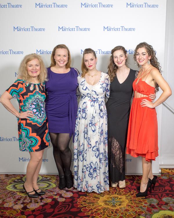 Anne Gunn, Brianna Borger, Emily Rohm, Alan Grossman, Eliza Palasz Photo