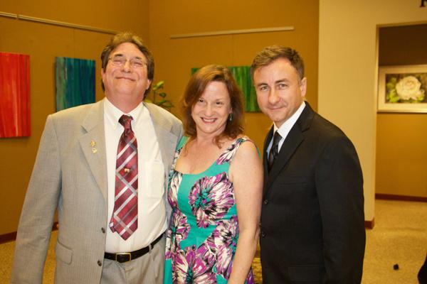 Joseph Oshry, Janet Glendening and Steve Dawson