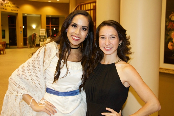 Diana Dizon and Vanessa Russo Photo