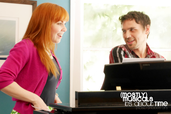 Photo Flash: In Rehearsal for (mostly)musicals' IT'S ABOUT TIME