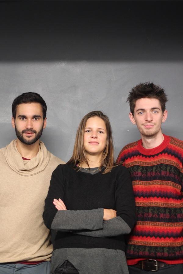 Joe Sellman-Leava, Katharina Reinthaller and Michael Woodman