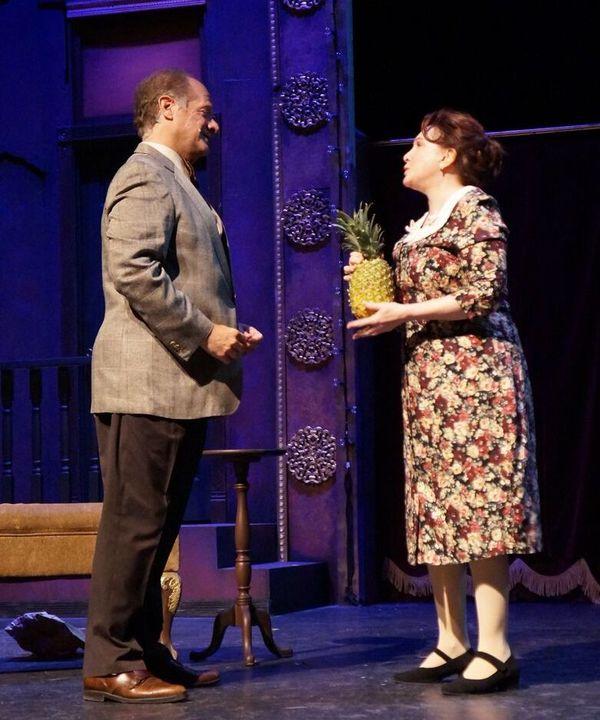 Ken Rubenstein and Lauren Miller  Photo