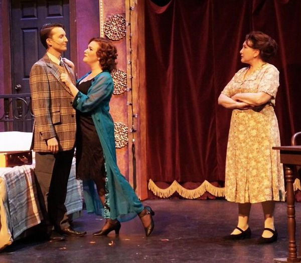 Micahel Greenlief, Alli Braun and Lauren Miller Photo