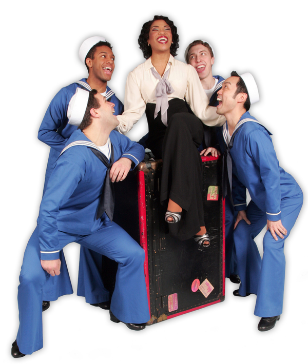 Photos: Rashidra Scott and Company Get in Costume for Goodspeed's ANYTHING GOES