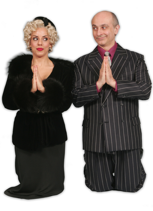 Desiree Davar and Stephen DeRosa