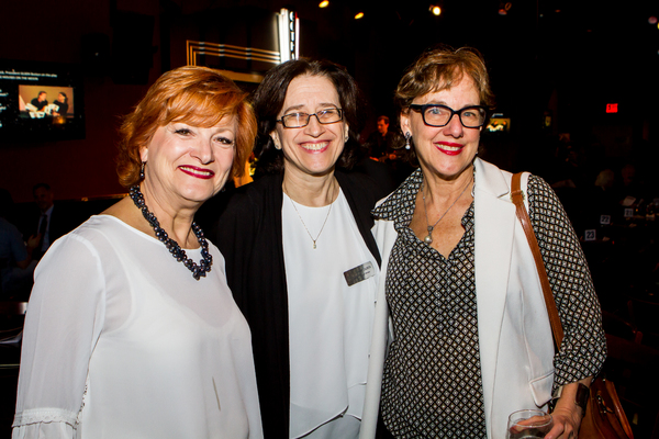 Anne Hamburger,Jane Dubin, and Frances McGarry Photo