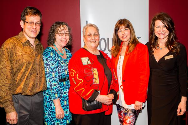 Jeffrey Solomon; Lenni Benson, Judy Sennesh, Laura Welch and Emily Weiner