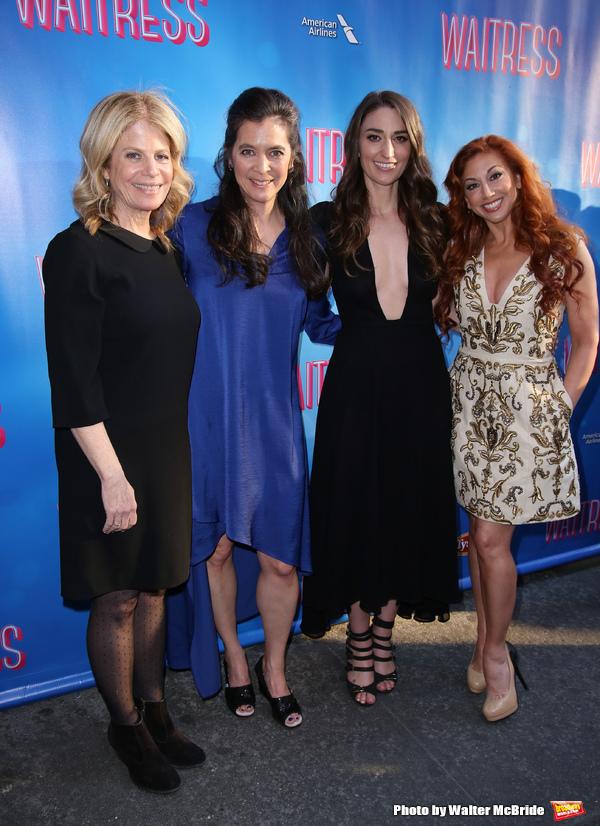 Jessie Nelson, Diane Paulus, Sara Bareilles and Lorin Latarro