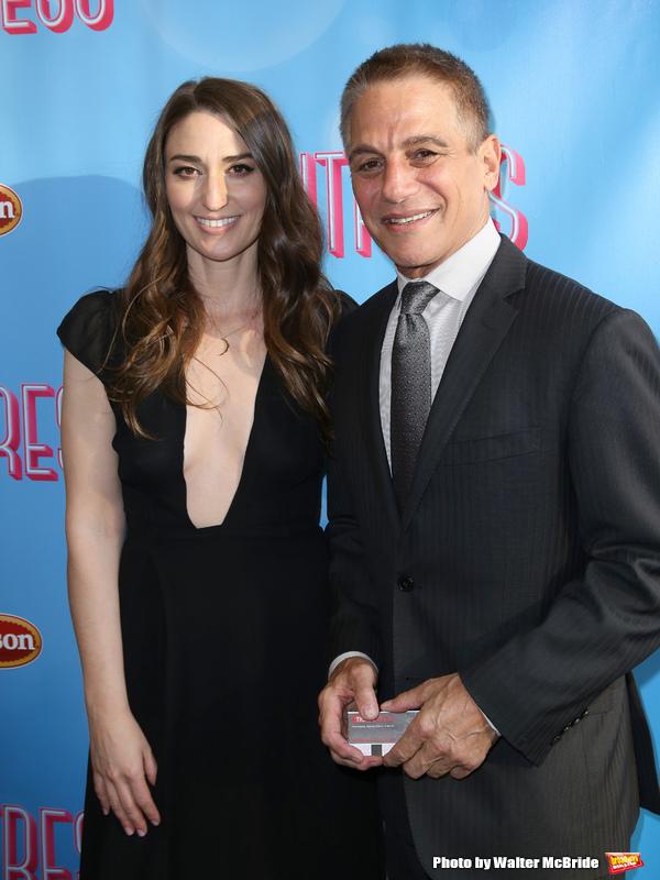 Sara Bareilles and Tony Danza