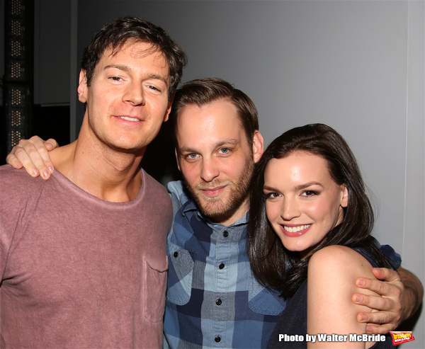 Benjamin Walker, Theo Stockman and Jennifer Damiano