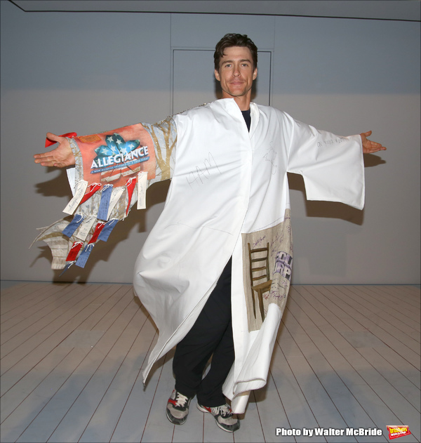 Exclusive Photo Coverage: Inside the AMERICAN PSYCHO Gypsy Robe Ceremony!