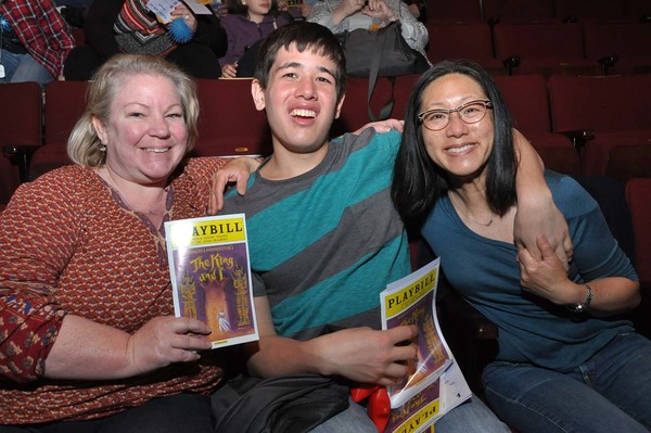 Photo Flash: Broadway's THE KING AND I Partners with TDF for Autism-Friendly Performance