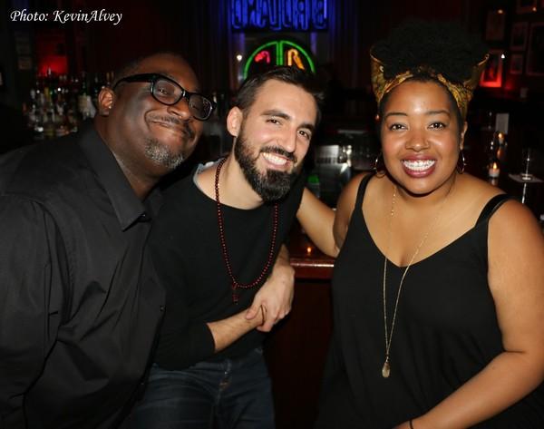 Chris Loftlin, Jack DeBoe and Celisse Henderson Photo