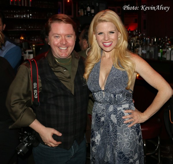 Kevin Alvey and Megan Hilty