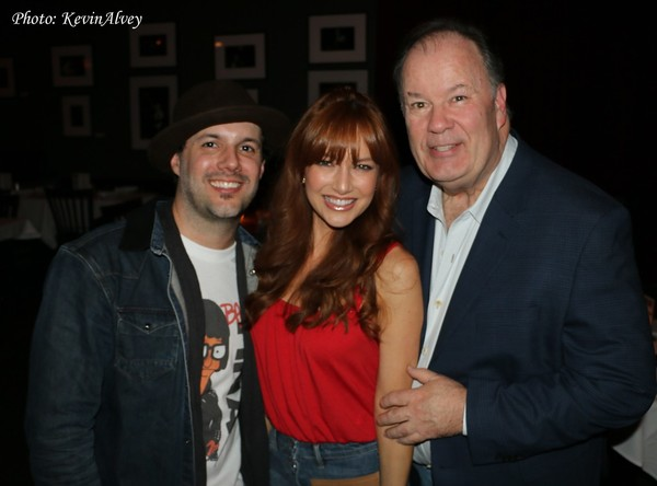 Matt Cusson, Liza Cusson and Dennis Haskins
