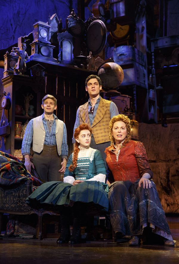 Photo Flash: Join the Parade! First Look at Andrew Keenan-Bolger, Sarah Charles Lewis, Carolee Carmello, Terrence Mann and More in TUCK EVERLASTING