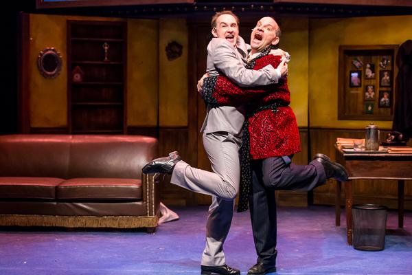 Bill Larkin (Max Bialystock) and Matt Crowle (Leo Bloom) Photo