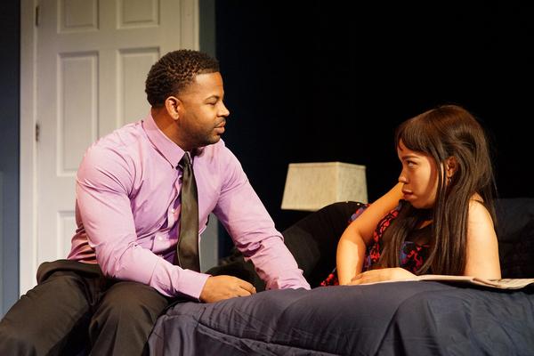 Peter Johnson and Danica Riddick